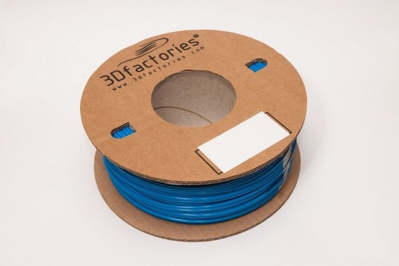 3D Factories tisková struna ABS 1,75 mm 5m modrá