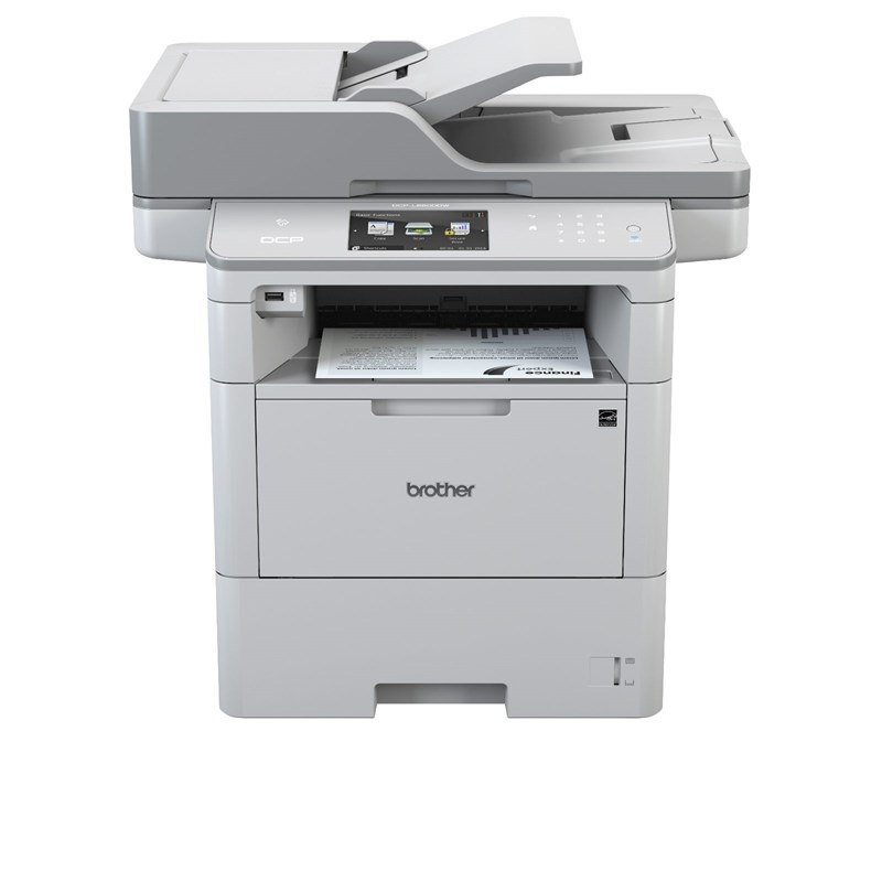 Brother DCP-L6600DW, A4, 46ppm, WiFi, LAN, ADF, D