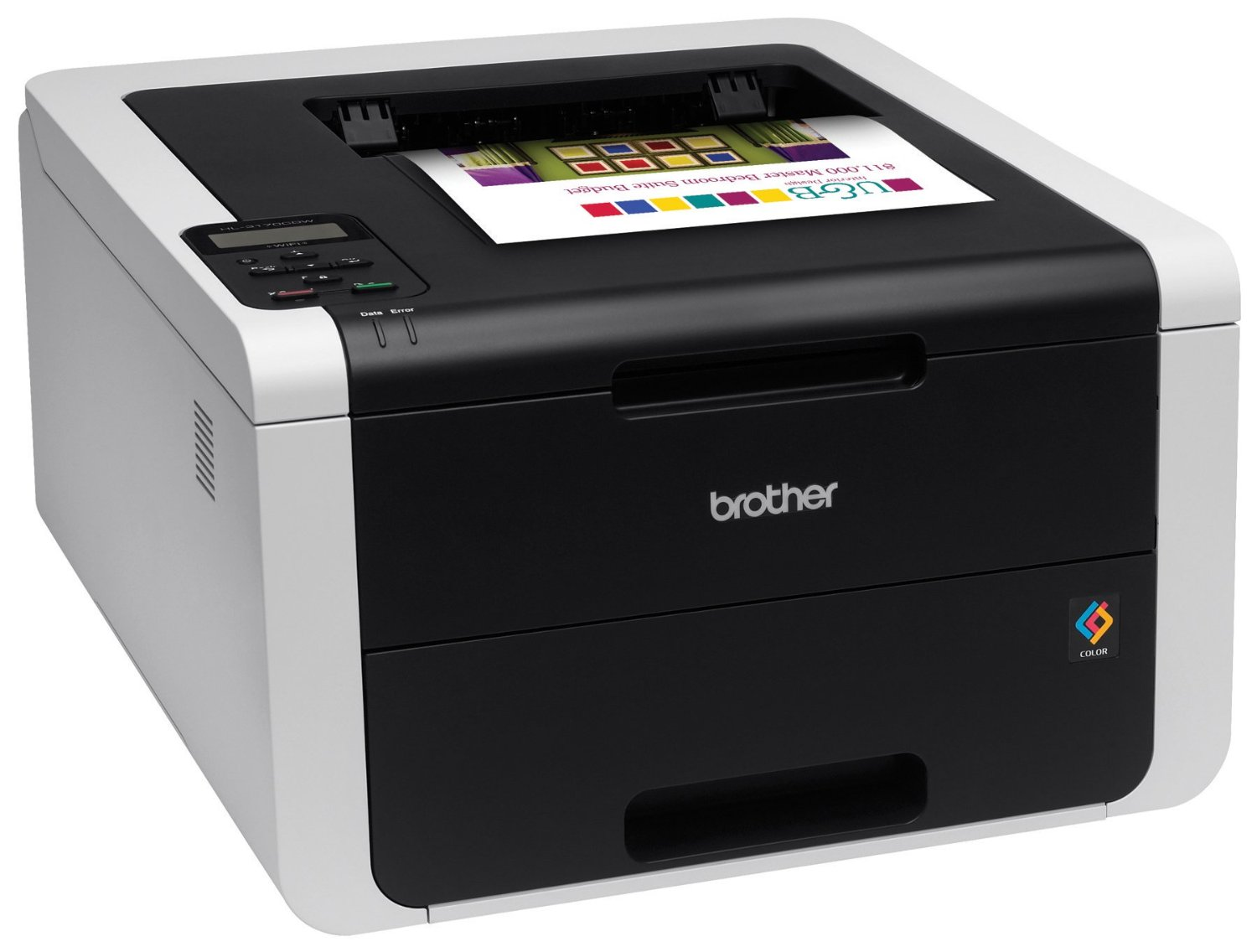 Brother HL-3170CDW,A4,22ppm,2400dpi,USB,Eth+Wifi