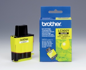 Brother LC-900Y - inkoust yellow