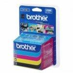 Brother LC-900 VALBP(ink.multipack-černá+třibarvy)