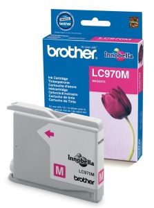 Brother LC-970M - inkoust magenta