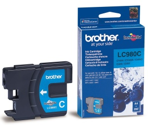 Brother LC-980C - inkoust cyan