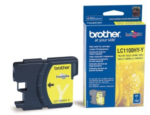 Brother LC-1100HYY - inkoust yellow - LC1100HYY