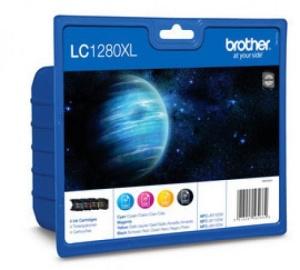 LC-1280XLVALBP (inkoust multipack-černá+tři barvy)