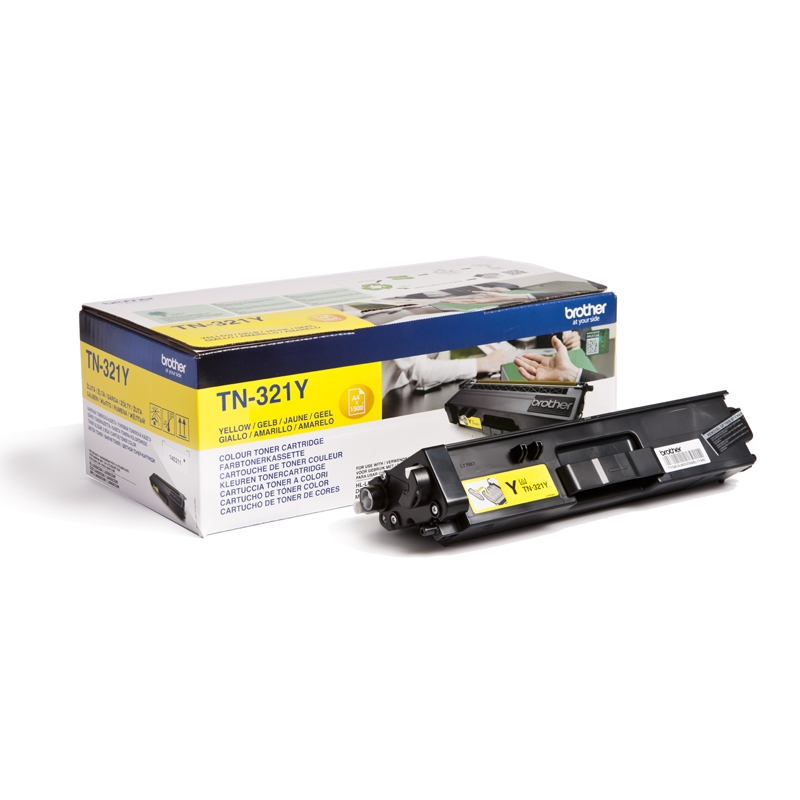 Brother TN-321Y, toner yellow, 1 500 str.