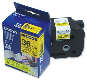 TZE-661,  žlutá/černá, 36mm - TZE661