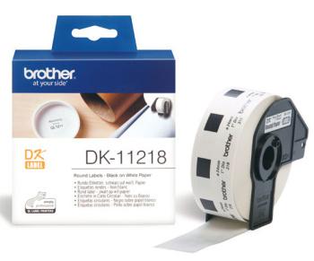 DK-11218 (papírové / kulaté, průměr 24 mm -1000ks)