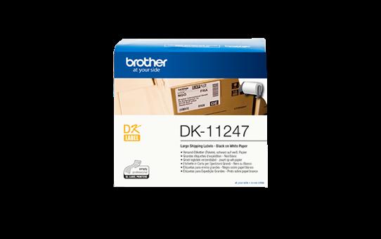 Brother DK-11247 - černá na bílé, 103 mm x 164 mm