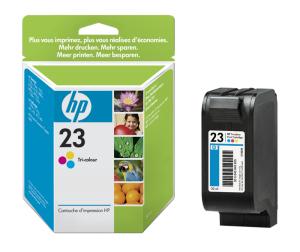 HP no. 23 - 3barevná ink. kazeta velká, C1823DE