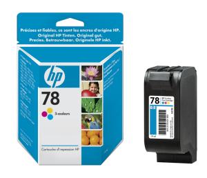 HP no. 78 - 3barevná ink. kazeta malá, C6578DE