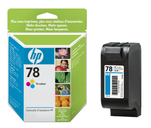 HP no. 78 - 3barevná ink. kazeta velká, C6578AE