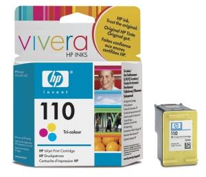 HP No 110 - barevná ink. kazeta pro HP PS, CB304A