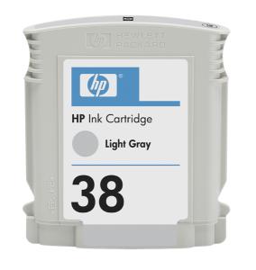 HP 38 - sv. šedá ink. kazeta, C9414A
