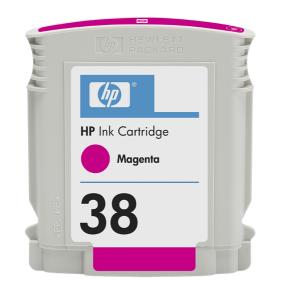 HP 38 - purpurová ink. kazeta, C9416A
