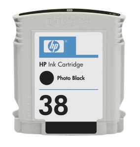 HP 38 - foto černá ink. kazeta, C9413A