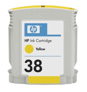 HP 38 - žlutá ink. kazeta, C9417A