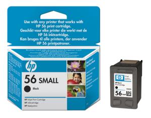 HP no. 56 - černá ink. kazeta, malá, C6656GE