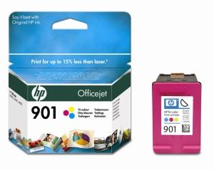 HP 901 - 3 barevná inkoustová kazeta, CC656AE