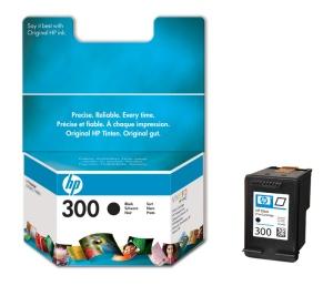 HP 300 - černá inkoustová kazeta, CC640EE