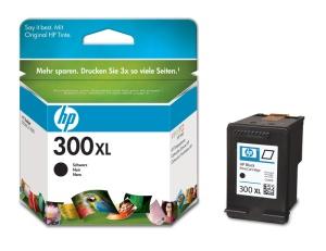 HP 300XL - černá inkoustová kazeta, CC641EE