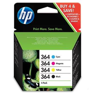 HP 364 - Combo pack C/M/Y/K, N9J73AE