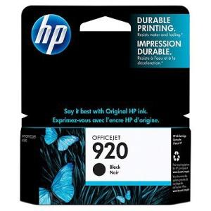 HP 920 - černá inkoustová kazeta, CD971AE