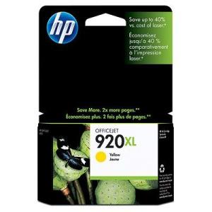 HP 920 XL - žlutá inkoustová kazeta, CD974AE