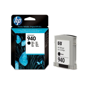 HP 940 - černá inkoustová kazeta, C4902AE