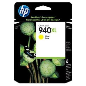 HP 940 XL - žlutá inkoustová kazeta, C4909AE
