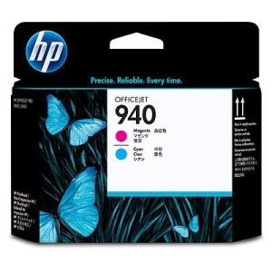 HP 940 azurová a purpurová tisková hlava, C4901A