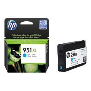 HP 951 XL azurová inkoustová kazeta, CN046AE