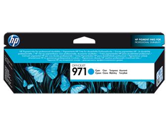 HP 971 azurová inkoustová kazeta, CN622AE