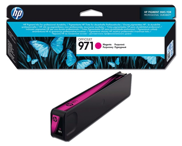 HP 971 purpurová inkoustová kazeta, CN623AE