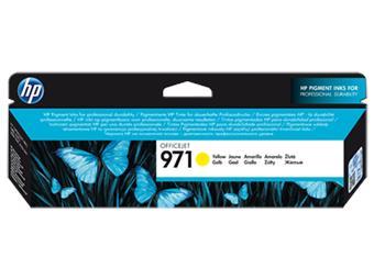 HP 971 žlutá inkoustová kazeta, CN624AE