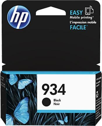 HP 934 černá inkoustová kazeta, C2P19AE