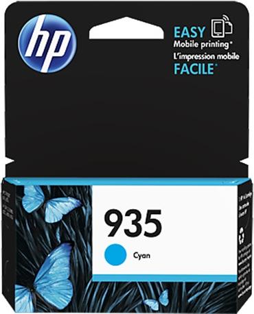 HP 935 azurová inkoustová kazeta, C2P20AE