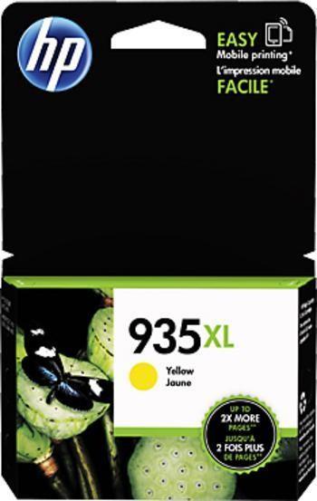 HP 935XL žlutá inkoustová kazeta, C2P26AE