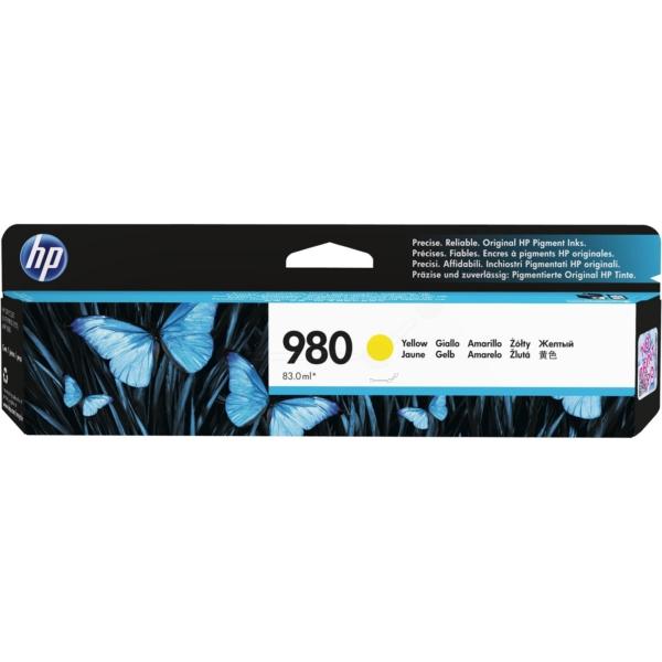 HP 980 žlutá inkoustová kazeta, D8J09A