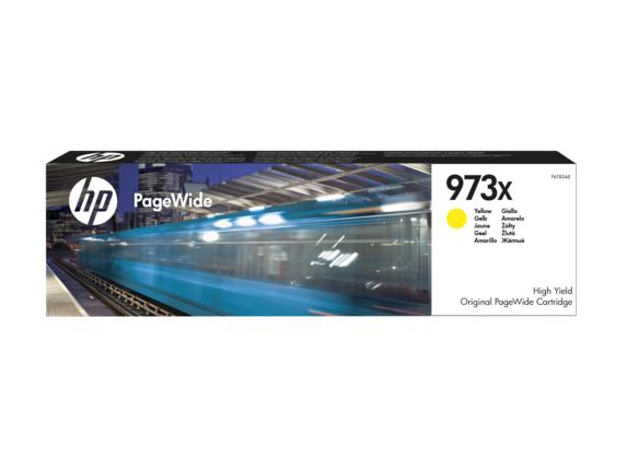HP 973X žlutá inkoustová kazeta, F6T83AE