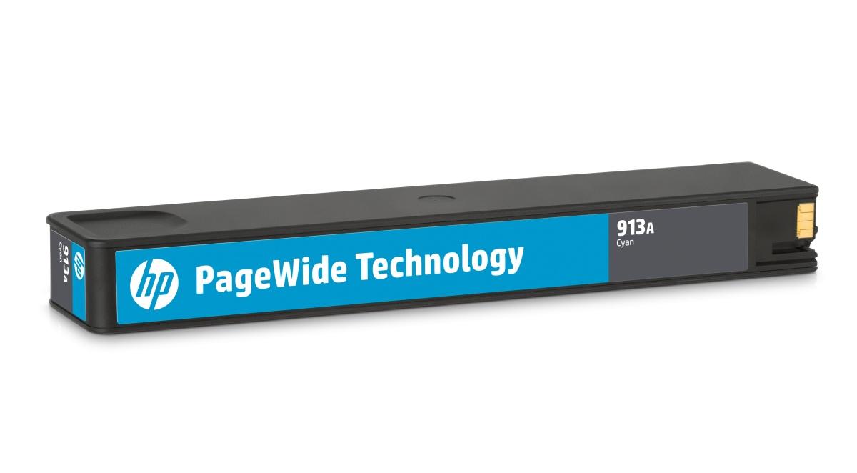 HP 913 - azurová inkoustová kazeta, F6T77AE