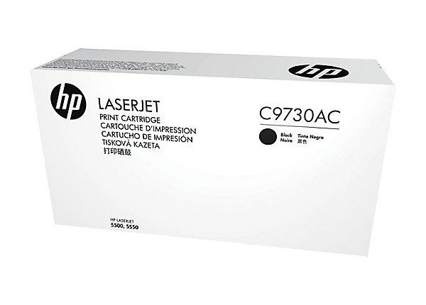 HP C9730AC Blk Contr LJ Toner Cartridge