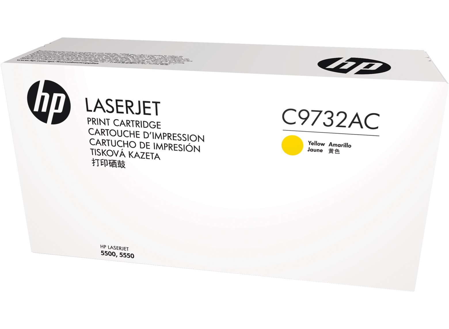 HP C9732AC Ylw Contr LJ Toner Cartridge