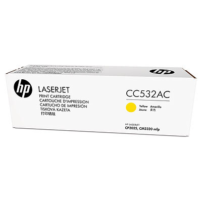 HP 304A Ylw Contract LJ Toner Cartridge