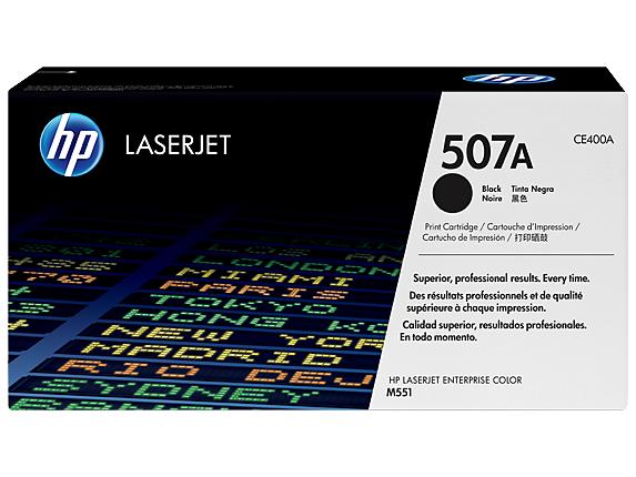 HP 507Y Blk Opt Contr LJ Toner Crtg