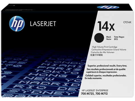 HP 14X Blk Contract LJ Toner Cartridge