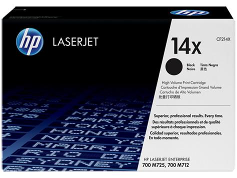 HP 14X - černý Contract Toner, CF214XC