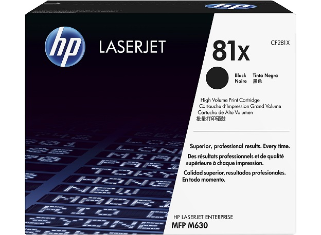 HP 81X Blk Contract LJ Toner Cartridge