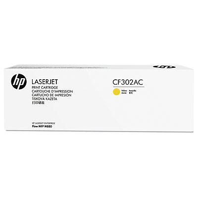 HP 827A Ylw Contract LJ Toner Cartridge
