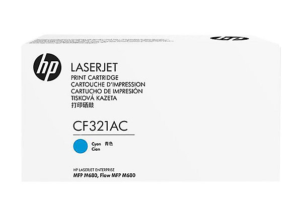 HP 653A Cyn Contract LJ Toner Cartridge